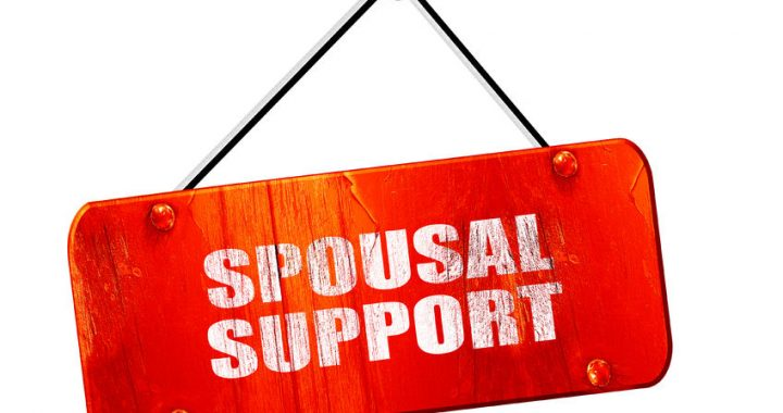 spousal support sign