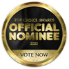 Official Nominee for the 2020 Top Choice Award
